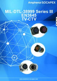 Tv Ctv Jd38999 Series Iii Rugged Connectors Amphenol Socapex