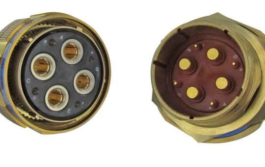 38999 Serie III Power Bronze